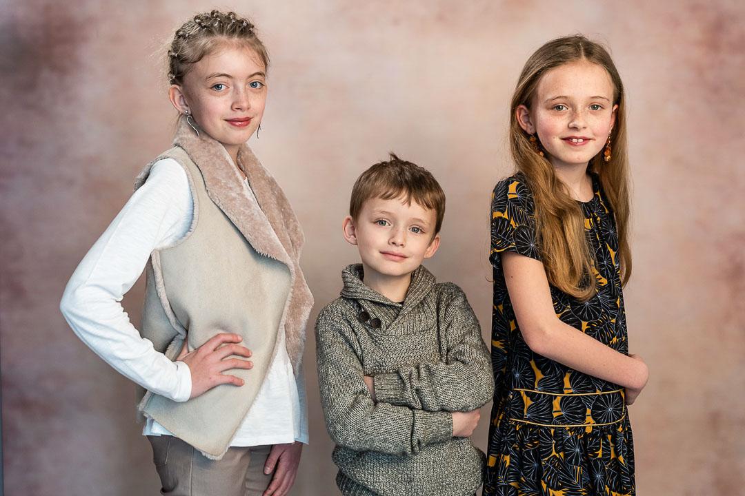 Portrait plusieurs enfants en Studio Loiret 45