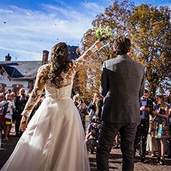 Photographie sortie de la mairie de mariage loiret 45
